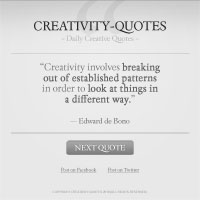 30 Minute Redesign: Creativity-Quotes
