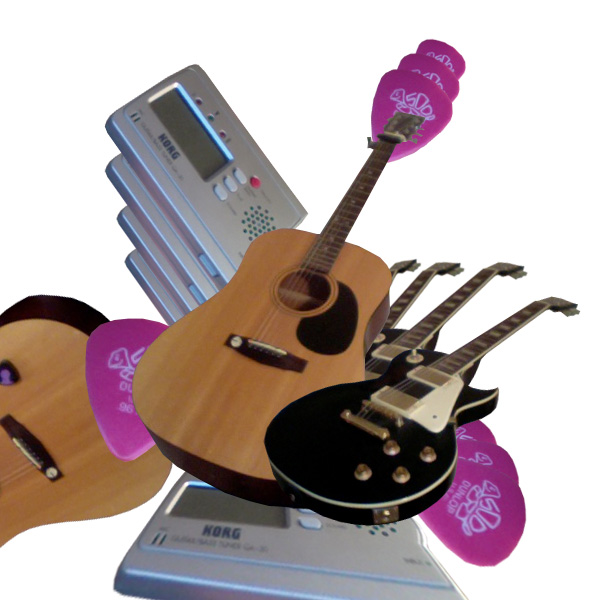 guitarmontage4 Create a Stylized Photo Montage from Scratch