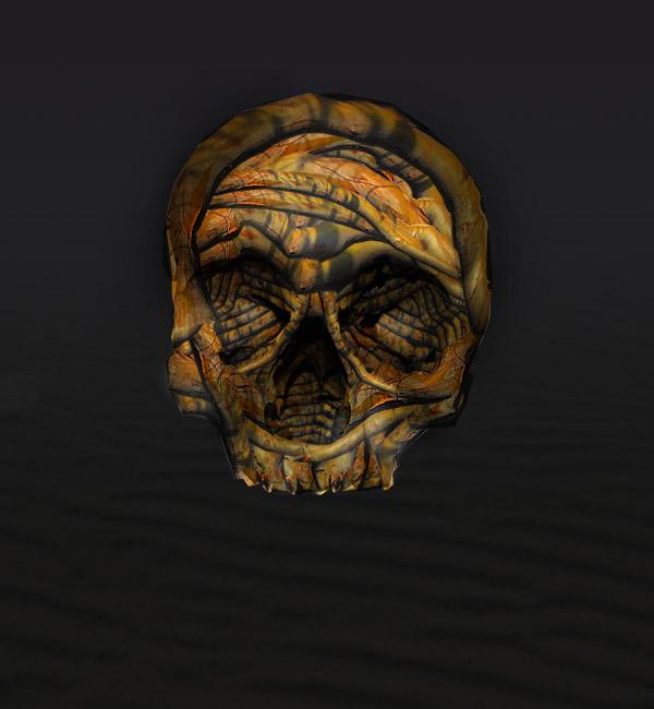 skullbranch10 Create a Halloween Inspired Flaming Wooden Skull