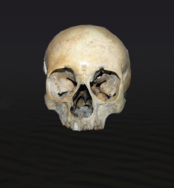 skullbranch4 Create a Halloween Inspired Flaming Wooden Skull