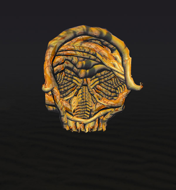 skullbranch7d Create a Halloween Inspired Flaming Wooden Skull