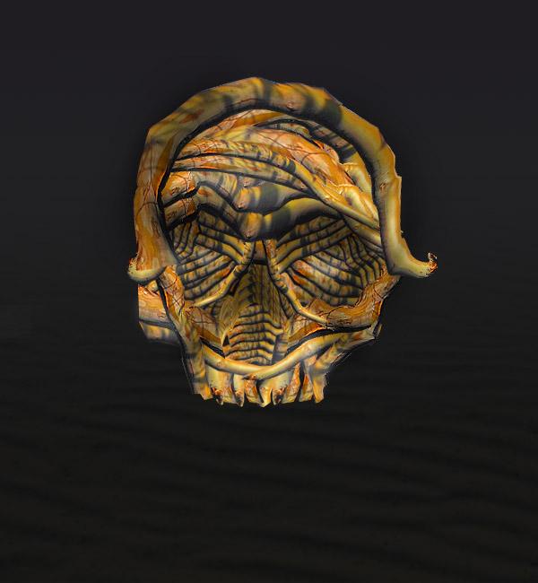 skullbranch8 Create a Halloween Inspired Flaming Wooden Skull