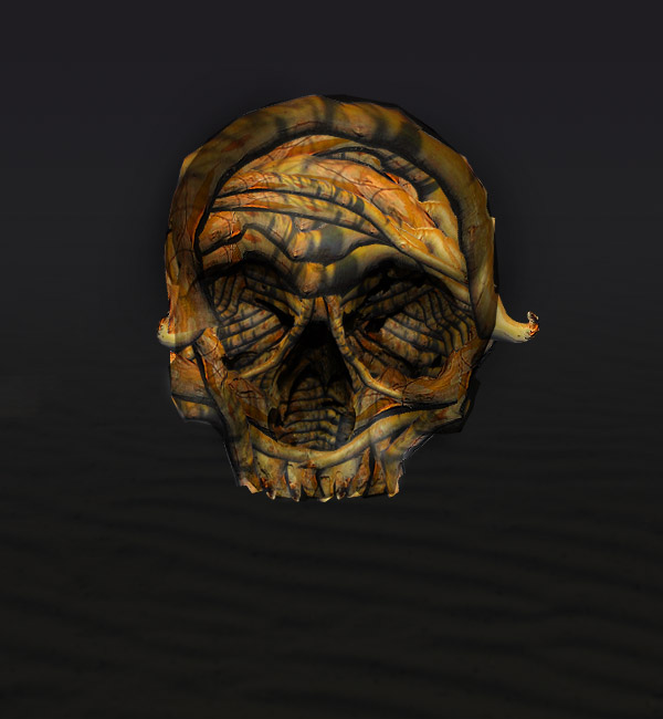 skullbranch9 Create a Halloween Inspired Flaming Wooden Skull