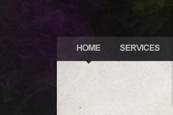 smokedesign19 Design a Textured Portfolio Website