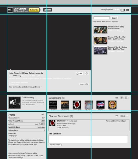 youtubebackground14 Create a Simple, Stylish Custom Youtube Background