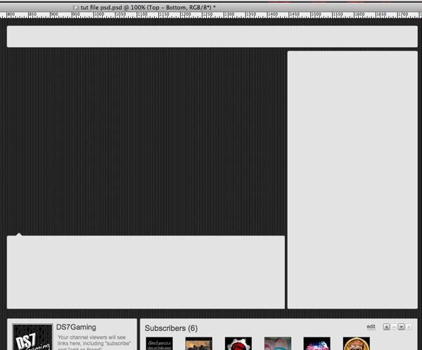 youtubebackground16 Create a Simple, Stylish Custom Youtube Background
