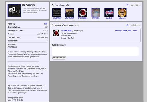 youtubebackground2 Create a Simple, Stylish Custom Youtube Background