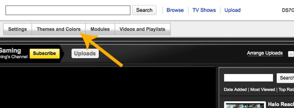 youtubebackground33 Create a Simple, Stylish Custom Youtube Background