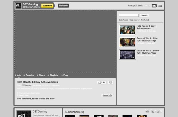 youtubebackground4 Create a Simple, Stylish Custom Youtube Background