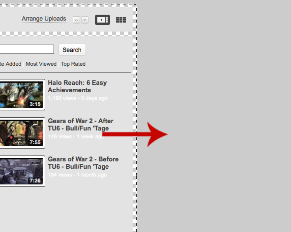 youtubebackground6 Create a Simple, Stylish Custom Youtube Background
