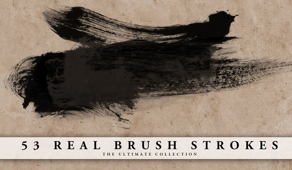 brush strokes photoshop