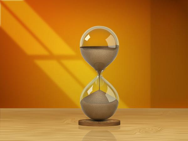 hour glass figure shadow