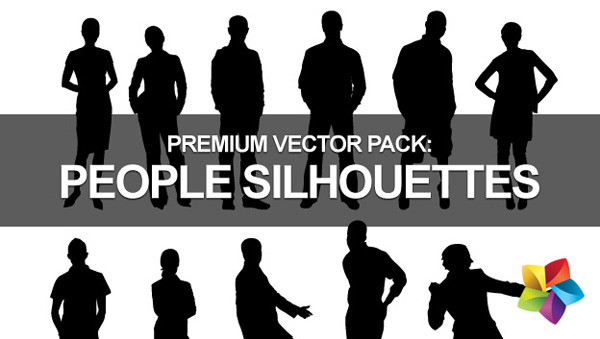 people silhouettes photoshop. Pack: People Silhouettes