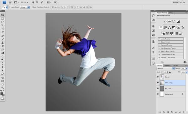 Dance 02 b Create A Futuristic Photo Illustration With Photoshop
