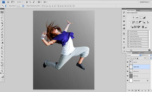 Dance 02 c Create A Futuristic Photo Illustration With Photoshop
