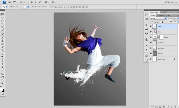 Dance 04 a Create A Futuristic Photo Illustration With Photoshop