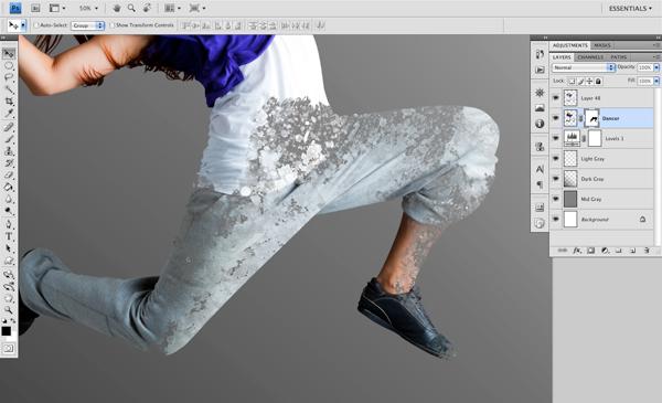 Dance 05 b Create A Futuristic Photo Illustration With Photoshop