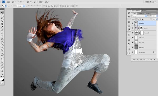 Dance 05 c Create A Futuristic Photo Illustration With Photoshop