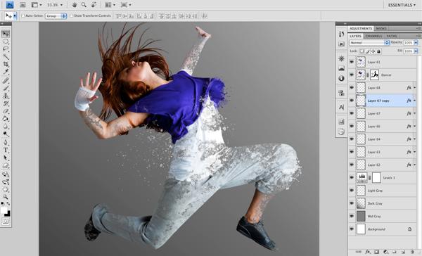 Dance 06 a Create A Futuristic Photo Illustration With Photoshop
