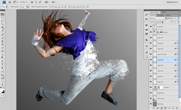 Dance 06 b Create A Futuristic Photo Illustration With Photoshop