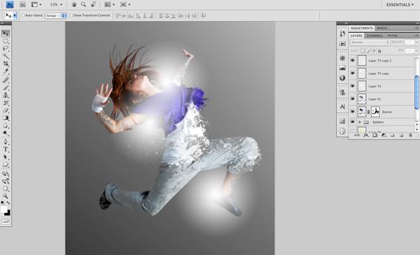 Dance 07 a Create A Futuristic Photo Illustration With Photoshop