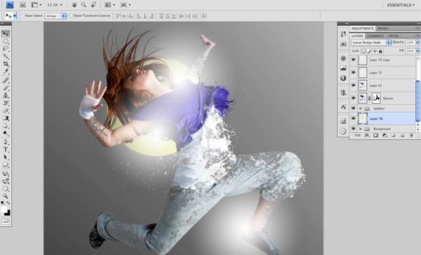 Dance 07 b Create A Futuristic Photo Illustration With Photoshop