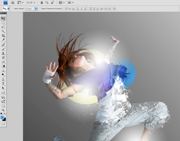Dance 07 c Create A Futuristic Photo Illustration With Photoshop