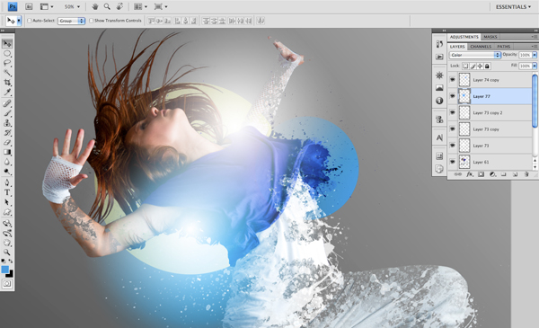 Dance 07 d Create A Futuristic Photo Illustration With Photoshop