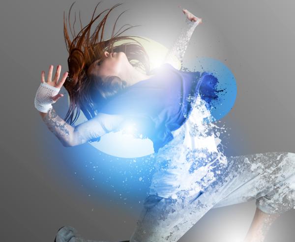 Dance 08 a Create A Futuristic Photo Illustration With Photoshop