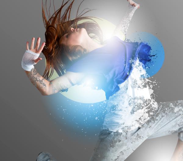Dance 08 b Create A Futuristic Photo Illustration With Photoshop