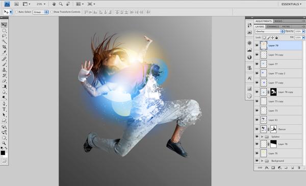 Dance 09 a Create A Futuristic Photo Illustration With Photoshop