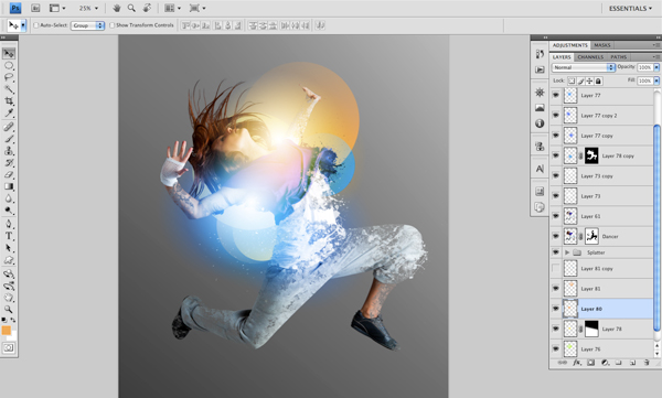 Dance 09 b Create A Futuristic Photo Illustration With Photoshop