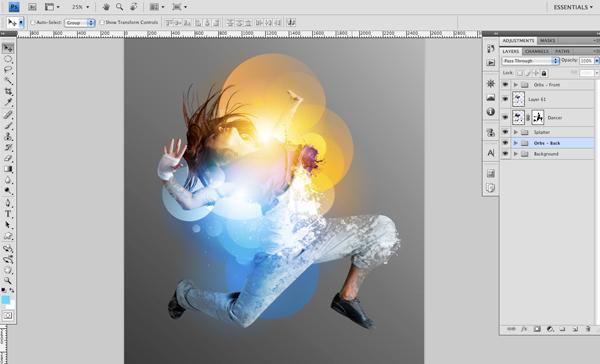 Dance 09 c Create A Futuristic Photo Illustration With Photoshop