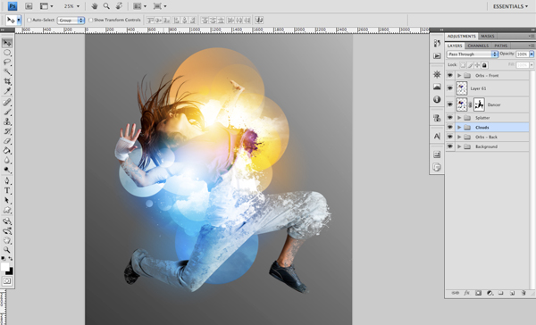 Dance 10 a Create A Futuristic Photo Illustration With Photoshop
