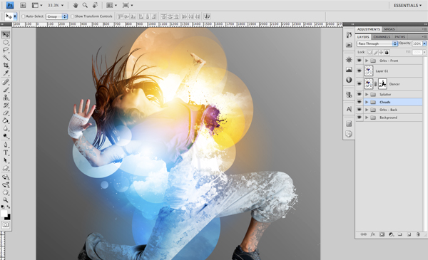 Dance 10 b Create A Futuristic Photo Illustration With Photoshop