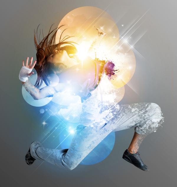 Dance 12 a Create A Futuristic Photo Illustration With Photoshop