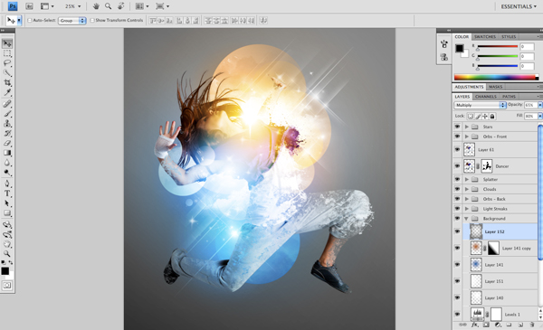 Dance 12 b Create A Futuristic Photo Illustration With Photoshop