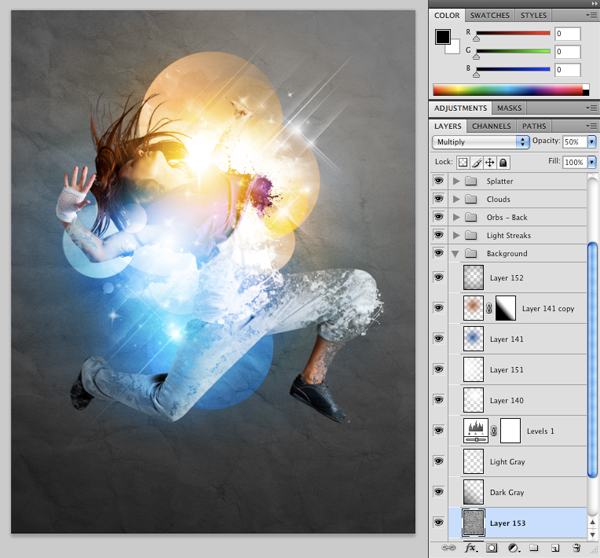 Dance 13 Create A Futuristic Photo Illustration With Photoshop