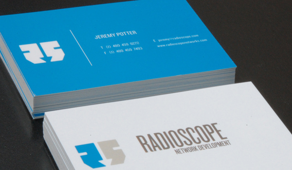 31 elegant and modern business card examples psdfan radio scope is a kick ass and beautiful business card it contains only two colors on both parts but both of them are bright and beautiful and because of colourmoves