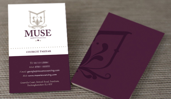 31 elegant and modern business card examples psdfan muse is a gorgeous elegant and beautiful business card it contains some soft colors which make the card look very elegant also the shapes on it take reheart Images