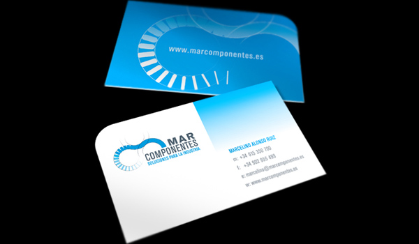 31 elegant and modern business card examples psdfan mar components is a beautiful well designed and professional business card which is very high quality the blue and white colors used on the card give to colourmoves