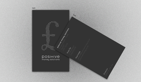 31 elegant and modern business card examples psdfan positive business card reheart Images
