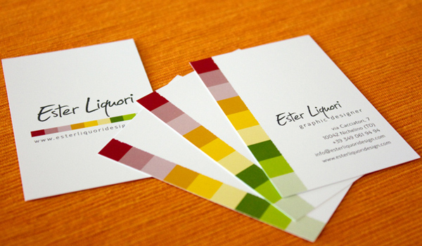 31 elegant and modern business card examples psdfan ester liquori business card colourmoves