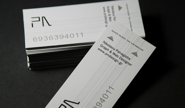 31 elegant and modern business card examples psdfan this elegant business card owned by nicolau panagiotis is a simple color less card it has a classic gray colour which interacts great with the colourmoves
