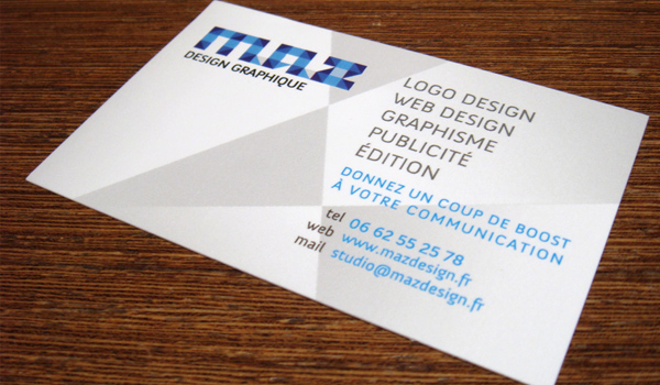 31 elegant and modern business card examples psdfan maz is a kick ass modern and high detailed business card the mix of some blue colors with the black font and grey white background create a beautiful reheart Image collections