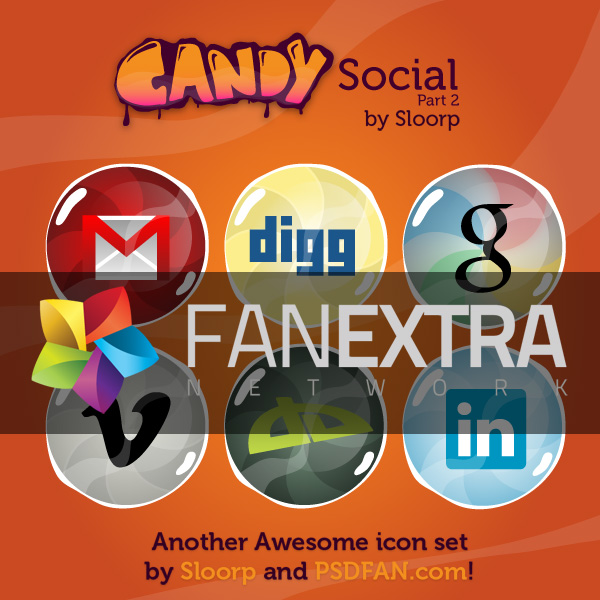 candysocial2thumb300 Icon Week: Premium Icon Pack: Candy Social 2