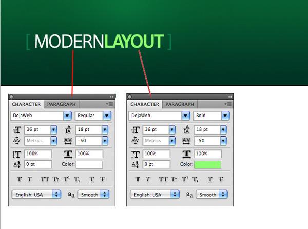 greenweblayout6 Design a Quick and Clean Portfolio Website
