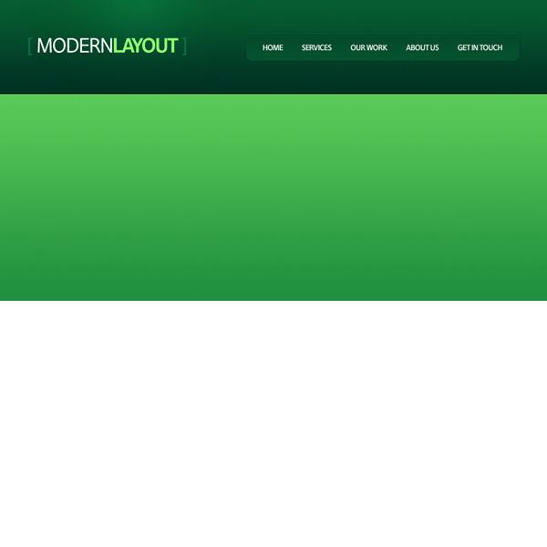 greenweblayout9 Design a Quick and Clean Portfolio Website