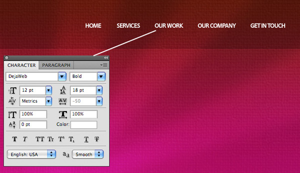 textureportfolio10 Design a Cool Textured Portfolio Website