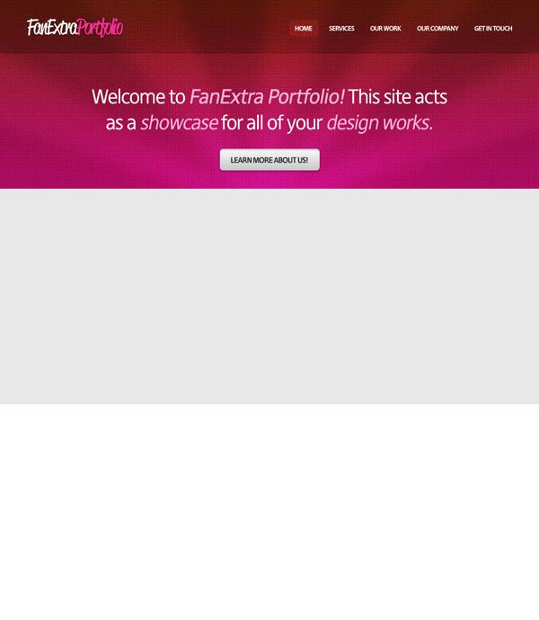 textureportfolio14 Design a Cool Textured Portfolio Website